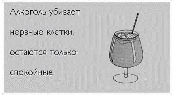 Анекдот: После пяти бокалов вина. Мой мозг — мне: — Что…