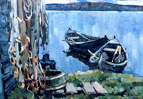 Boatsatthecoast.1959.Oiloncanvas66x72cm.jpg