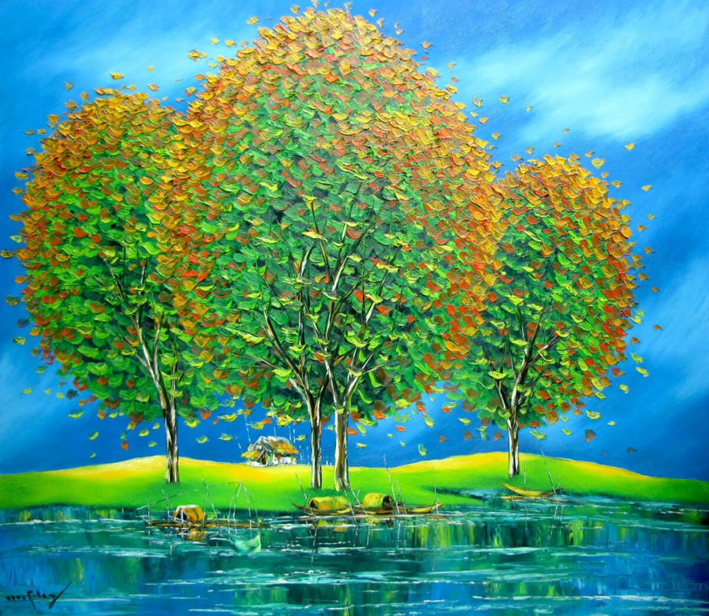 Green-trees-by-the-river-Original-Asian-Art.jpg