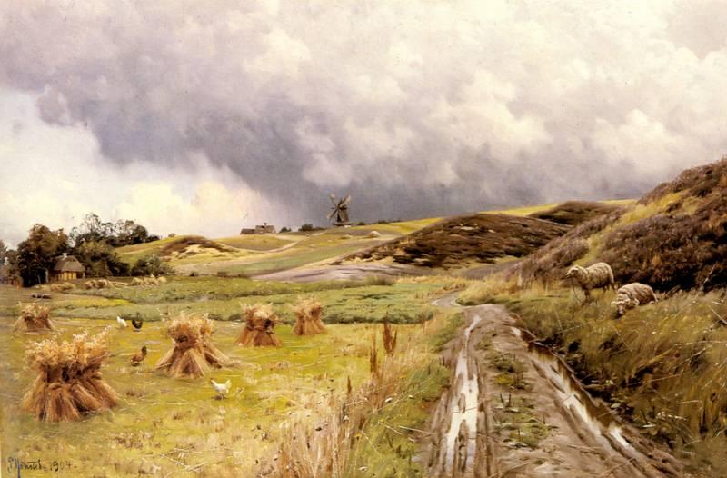 Monsted_Peder_A_Pastoral_Landscape_After_A_Storm.jpg