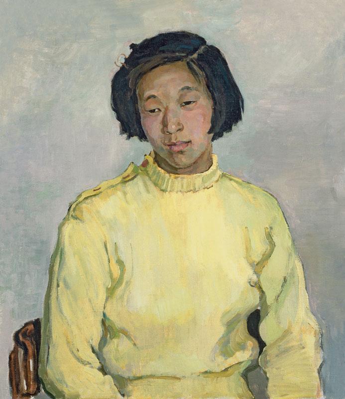 PortraitofChinesestudent.1957.Oiloncanvas70x60cm.jpg