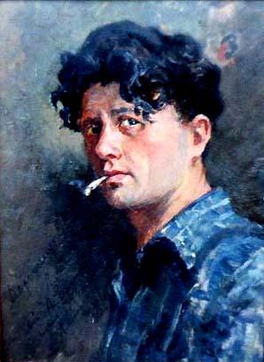 Self-portrait.1952.Oilonboard29x22cm.jpg